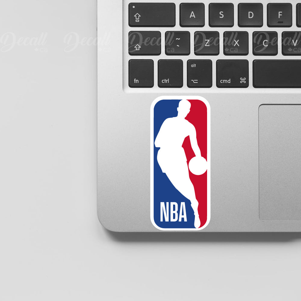 National Basketball Association Logo Sport Stickers - Stickers - Decall.ca