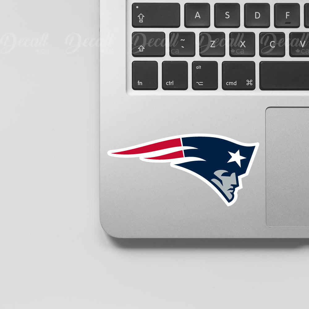 NFL New England Patriots Logo Sport Stickers - Stickers - Decall.ca