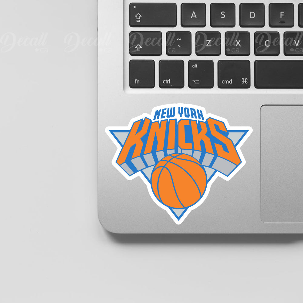 Basketball Team New York Knicks Logo Sport Stickers - Stickers - Decall.ca