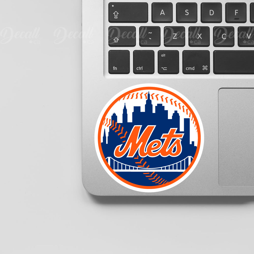 Baseball Team New York Mets Logo Sport Stickers - Stickers - Decall.ca