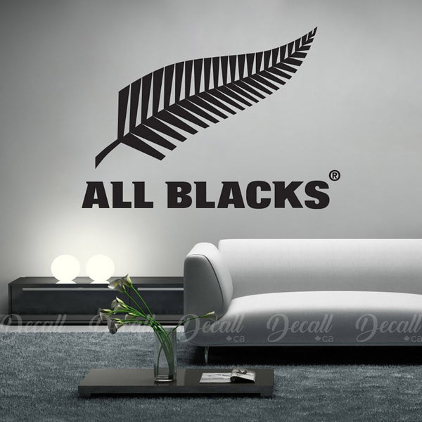 New Zealand All Blacks Rugby - Wall Decal - Car Sticker - Vehicle Decal - Wall-Decals - Decall.ca