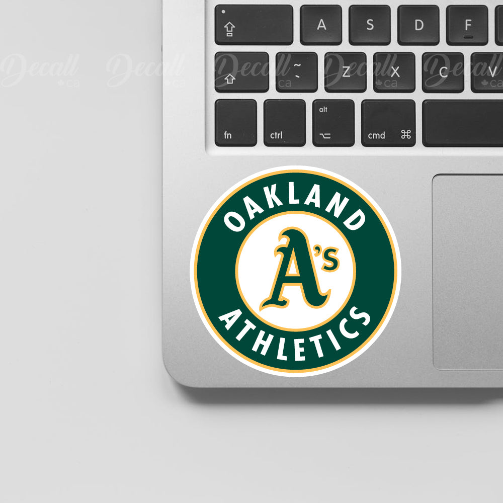 Baseball Team Oakland Athletics Logo Sport Stickers - Stickers - Decall.ca