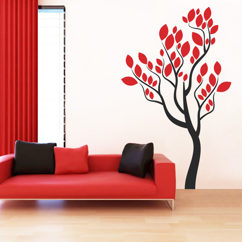 Passionate Tree - Wall Decals Stickers - Wall-Decals - Decall.ca
