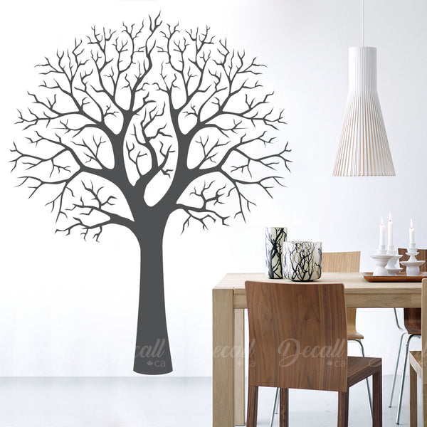 Perfect Winter Tree - Tree Wall Decals - Wall-Decals - Decall.ca