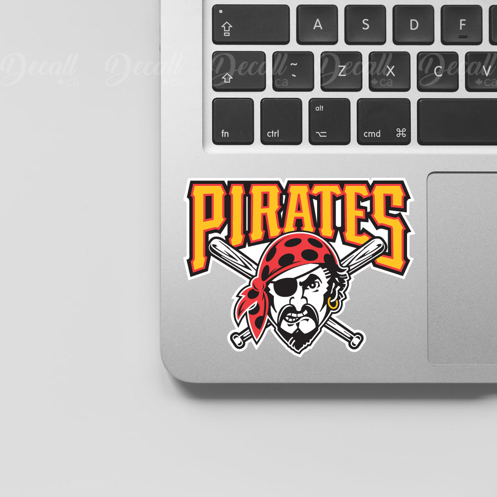 Baseball Team Pittsburgh Pirates Logo Sport Stickers - Stickers - Decall.ca
