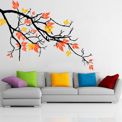 Pretty Autumnal Branch - Wall Decals - Wall-Decals - Decall.ca