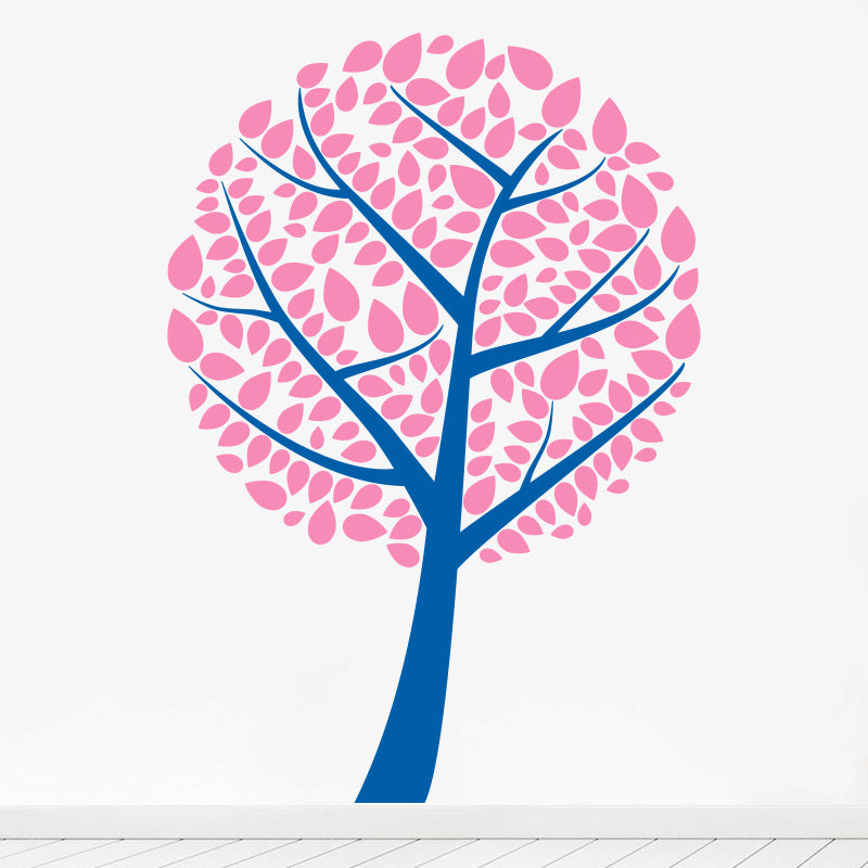 Pretty Ball Tree - Wall Decals Stickers - Wall-Decals - Decall.ca