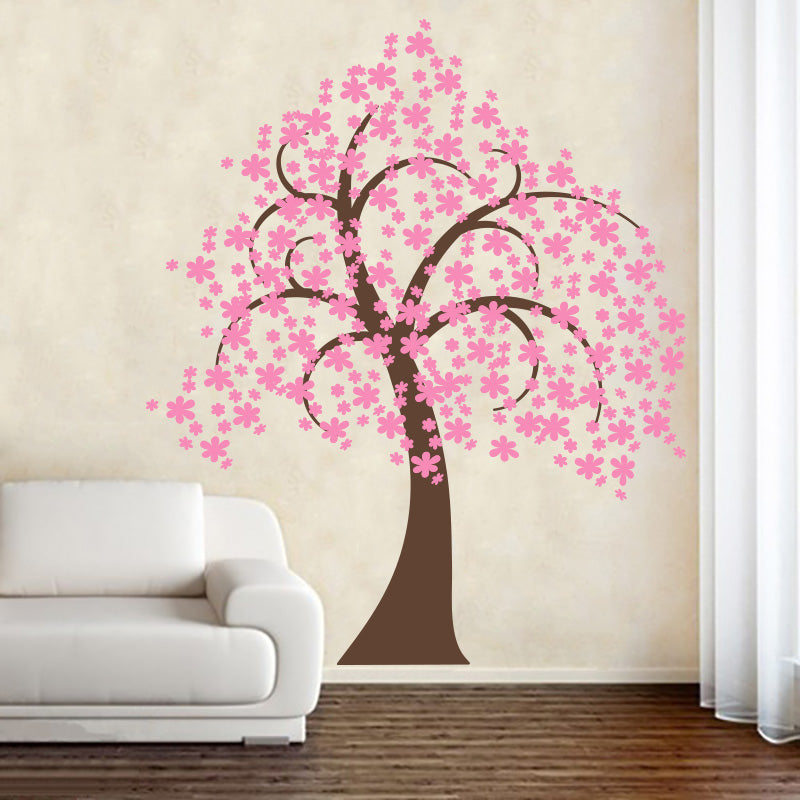 Pretty Blossom Tree - Wall Decals Stickers - Wall-Decals - Decall.ca