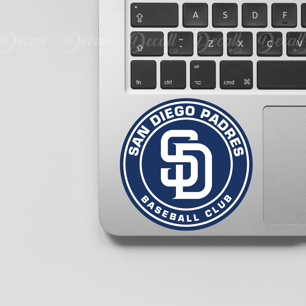 Baseball Team San Diego Padres Logo Sport Stickers - Stickers - Decall.ca