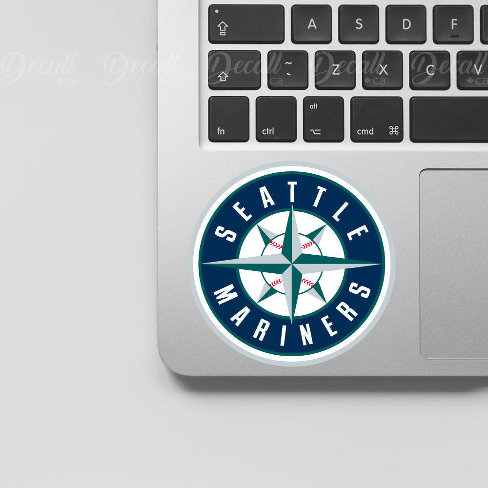 Baseball Team Seattle Mariners Logo Sport Stickers - Stickers - Decall.ca