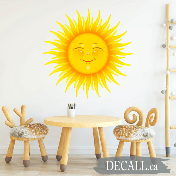 Smiling Sun Kids Wall Sticker DWS1201