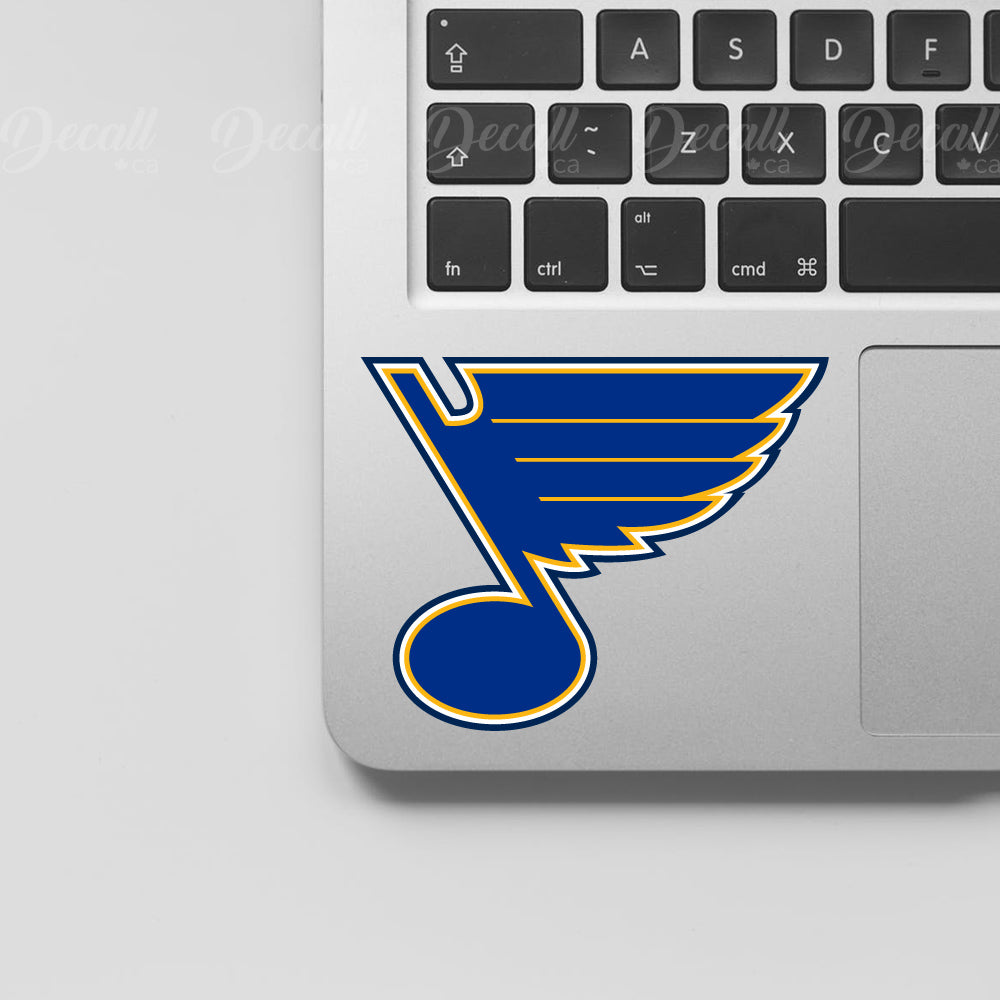 Ice Hockey Team St. Louis Blues Logo Sport Stickers - Stickers - Decall.ca