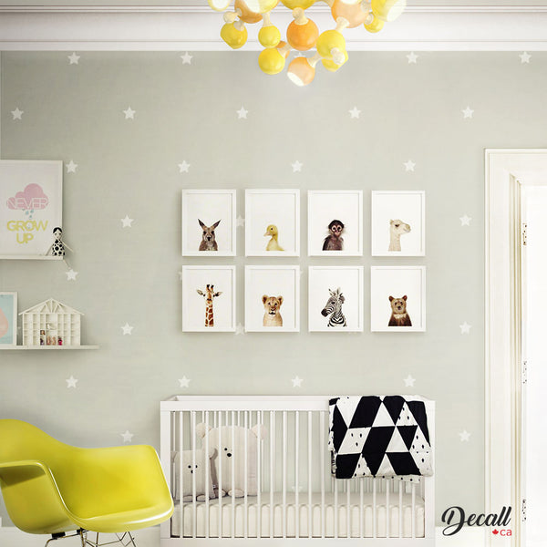 Removable Star Wall Decals - Wall-Decals - Decall.ca
