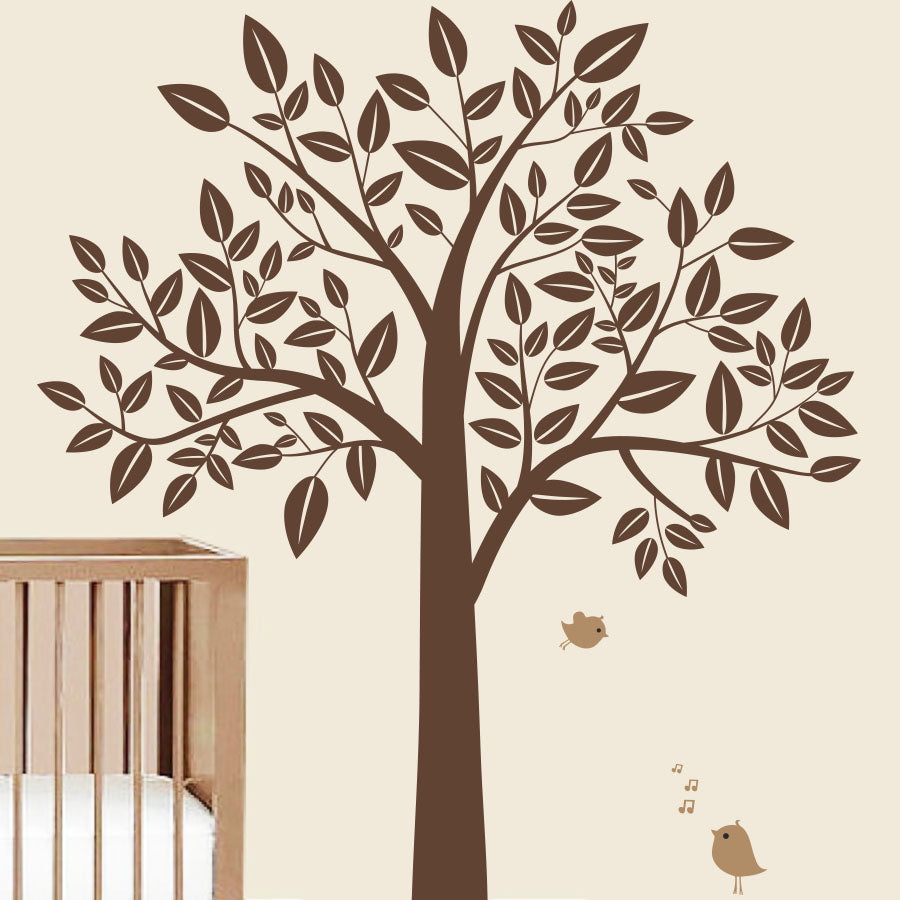 Stylish Tree - Wall Decals Stickers - Wall-Decals - Decall.ca