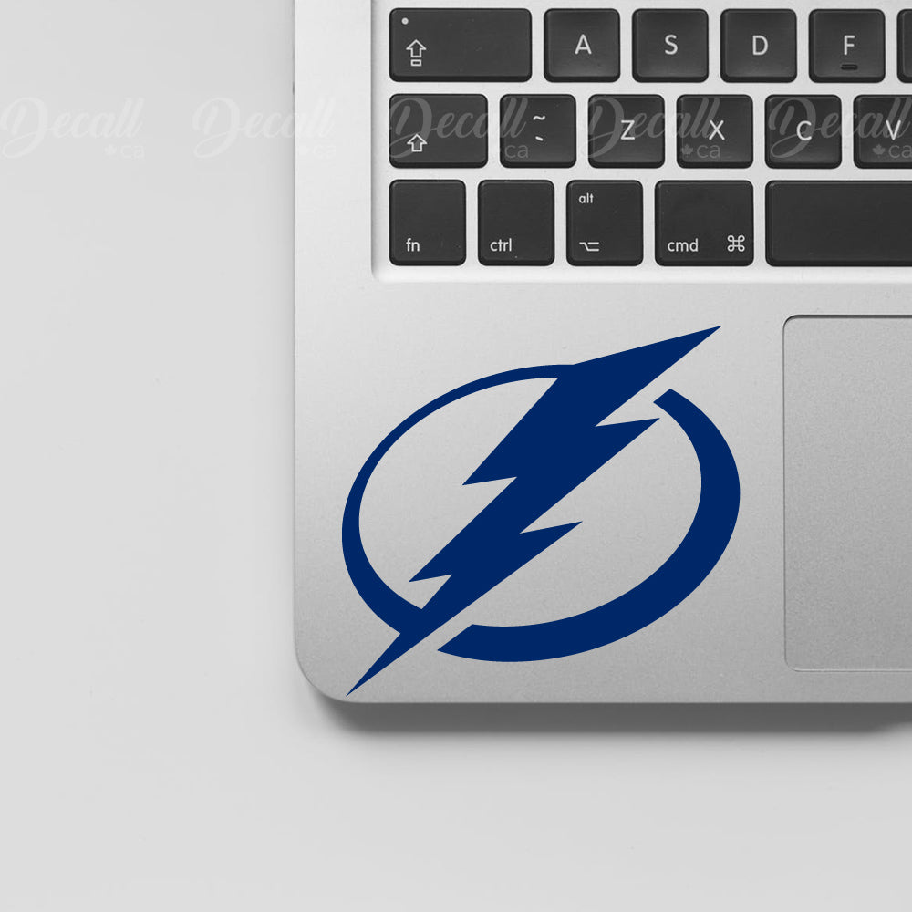 Ice Hockey Team Tampa Bay Lightning Logo Sport Stickers - Stickers - Decall.ca