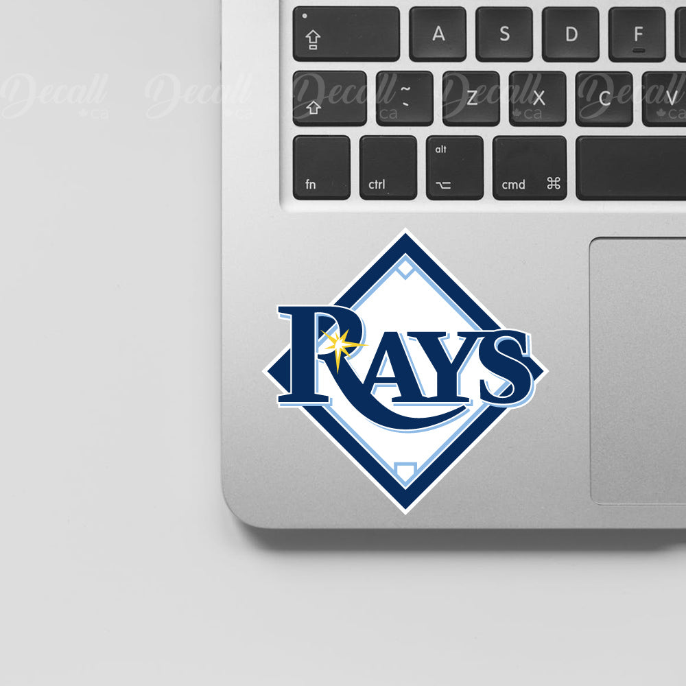 Baseball Team Tampa Bay Rays Logo Sport Stickers - Stickers - Decall.ca