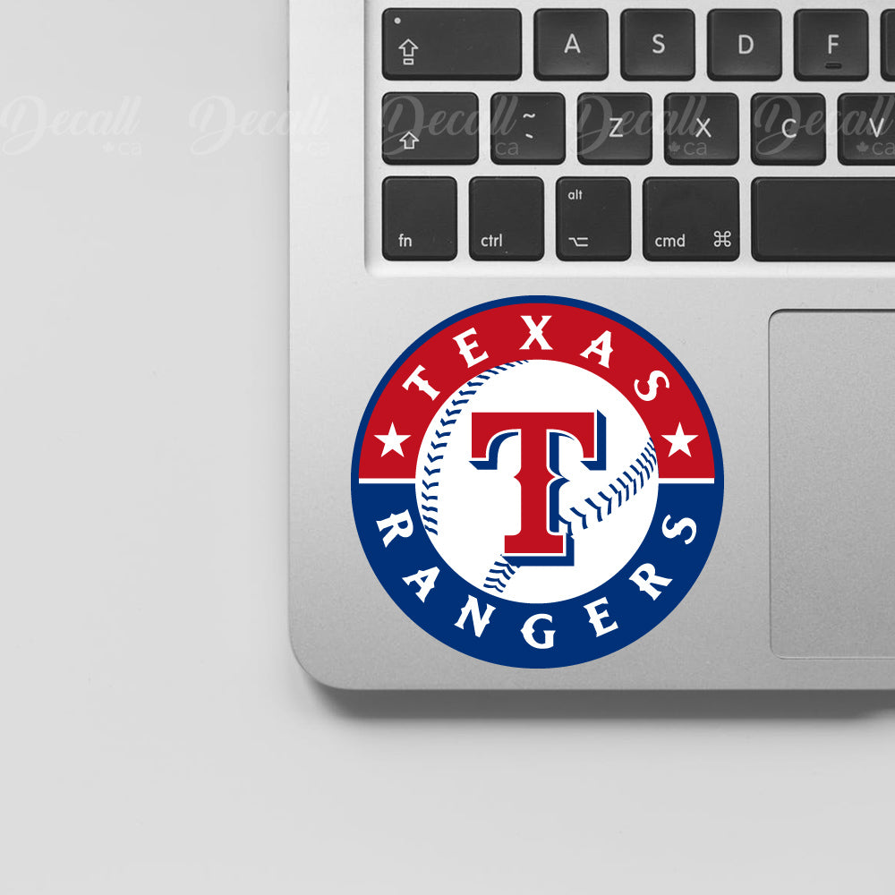 Baseball Team Texas Rangers Logo Sport Stickers - Stickers - Decall.ca
