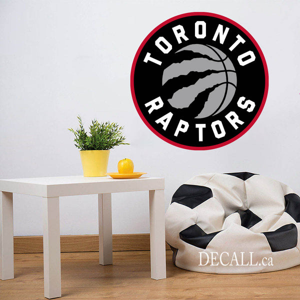 Basketball Team Toronto Raptors Canadian Team Logo Sport Wall Sticker