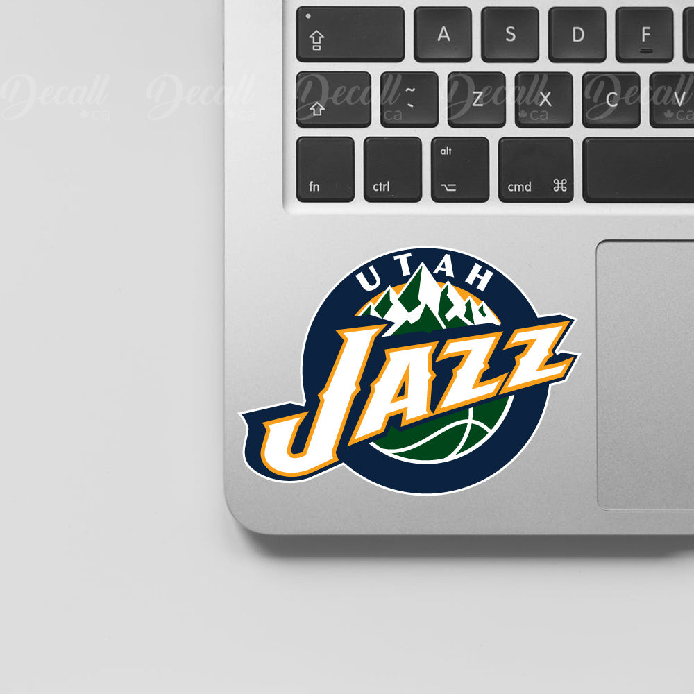 Basketball Team Utah Jazz  Logo Sport Stickers - Stickers - Decall.ca
