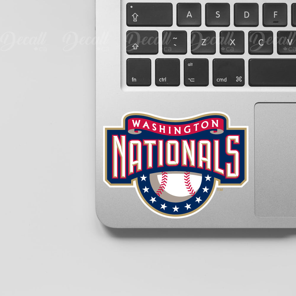 Baseball Team Washington Nationals Logo Sport Stickers - Stickers - Decall.ca