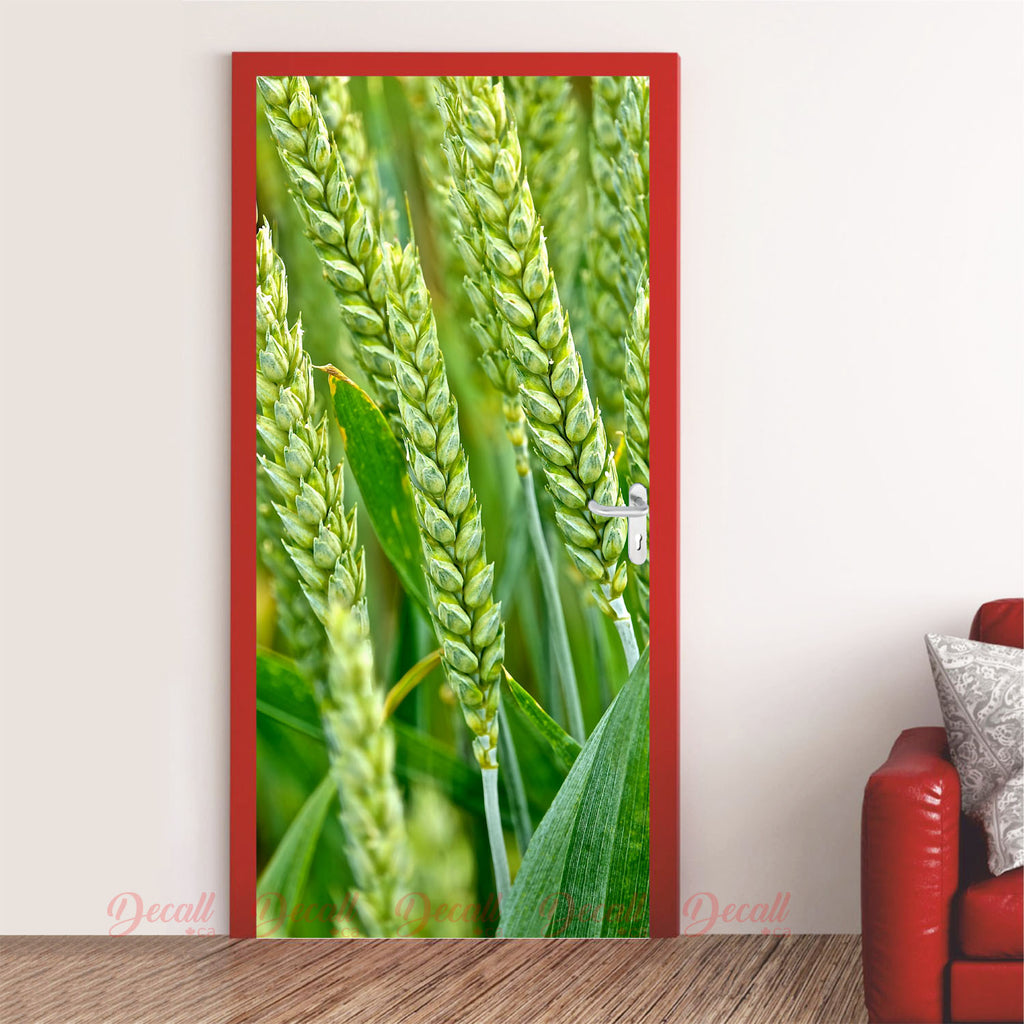 Wheat Field Door Mural - Door-Murals - Decall.ca