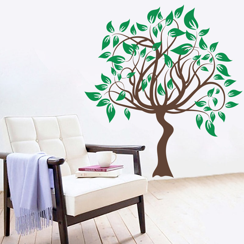 Winding Spring Tree - Wall Decals Stickers - Wall-Decals - Decall.ca