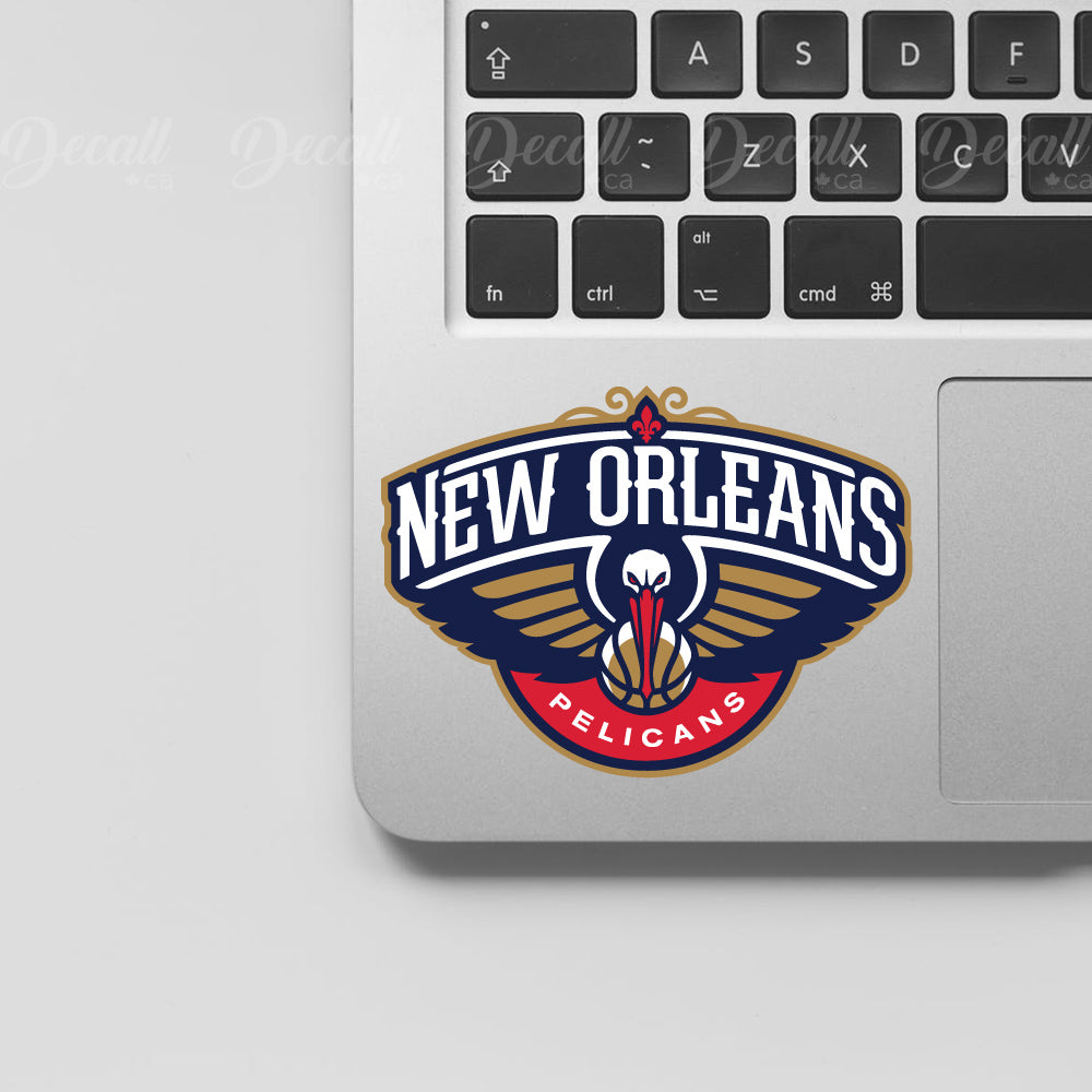 Basketball Team new orleans pelicans Logo Sport Stickers - Stickers - Decall.ca