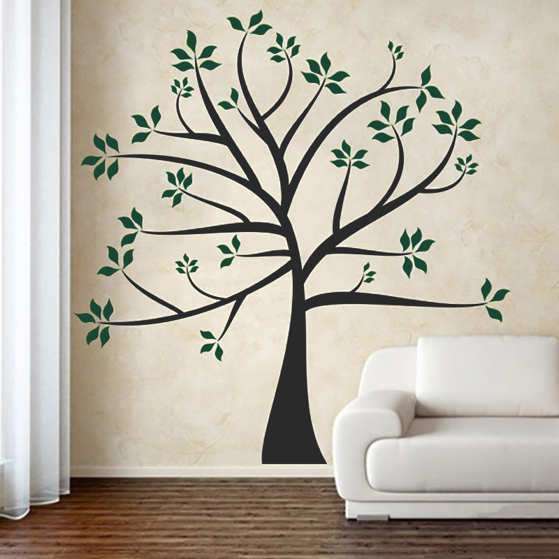 Tree With Outstretched Branches - Wall Decals Stickers - Wall-Decals - Decall.ca