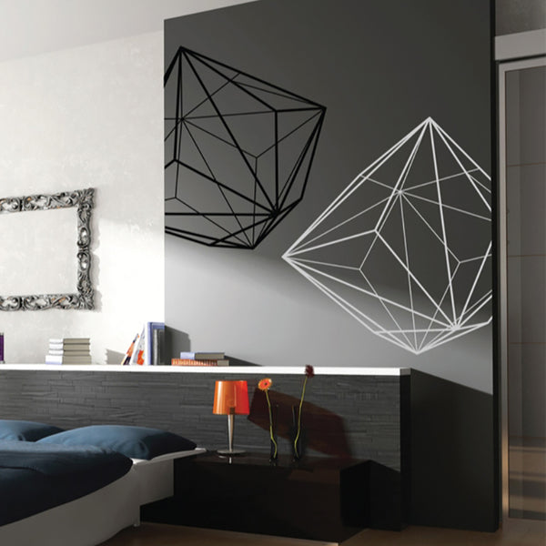 Triakis Octahedron - Wall Decals - Wall-Decals - Decall.ca