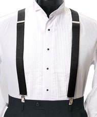 Men's Clip Suspenders, Navy