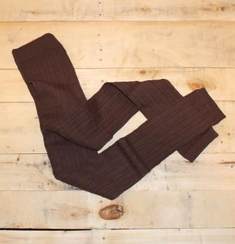 Textured cable knit leggings, cotton  These are great to add coverage to your legs during cooler seasons when wearing dresses and long tunics. Wears more like footless tights than leggings.