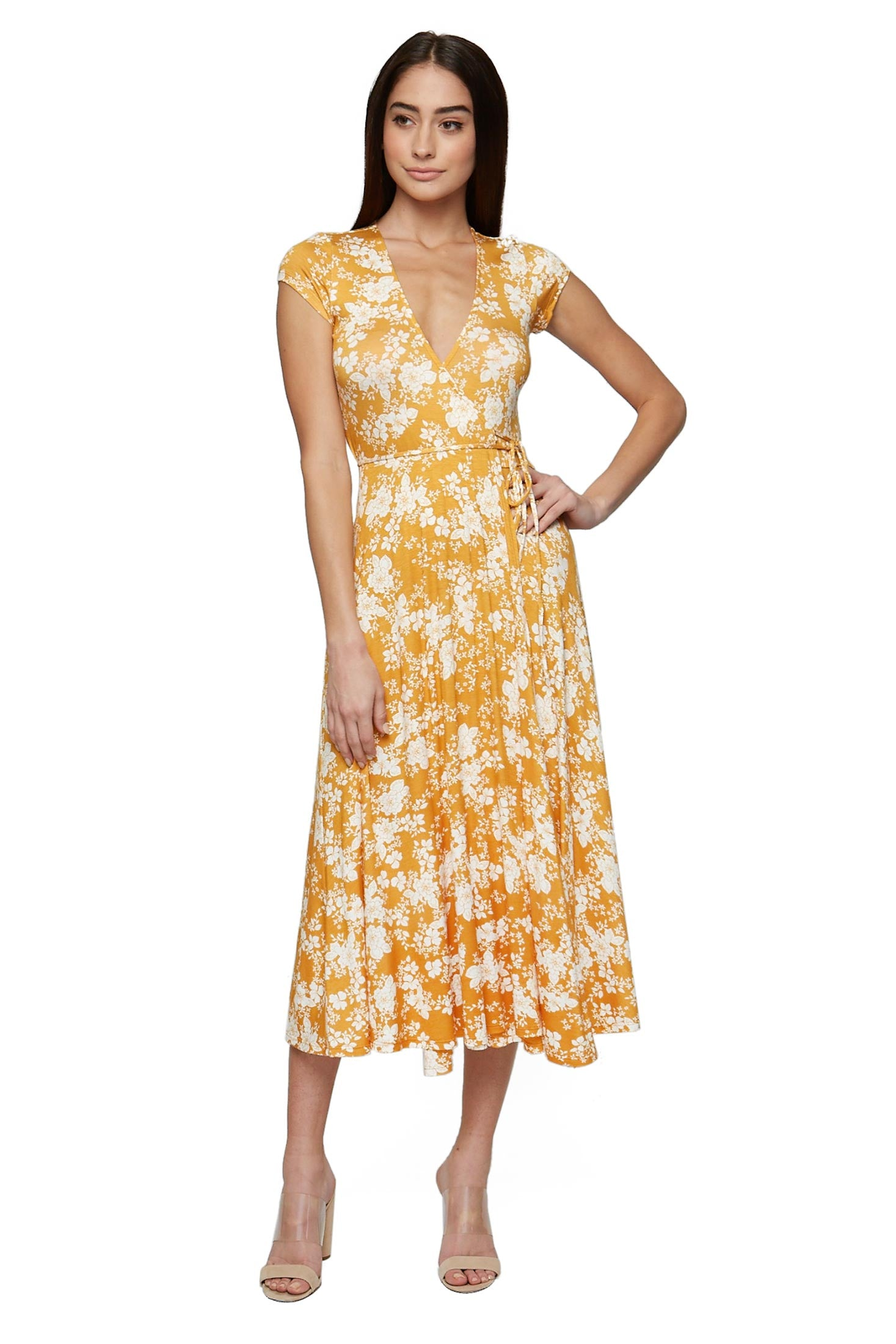Farley Wrap Dress - Posy