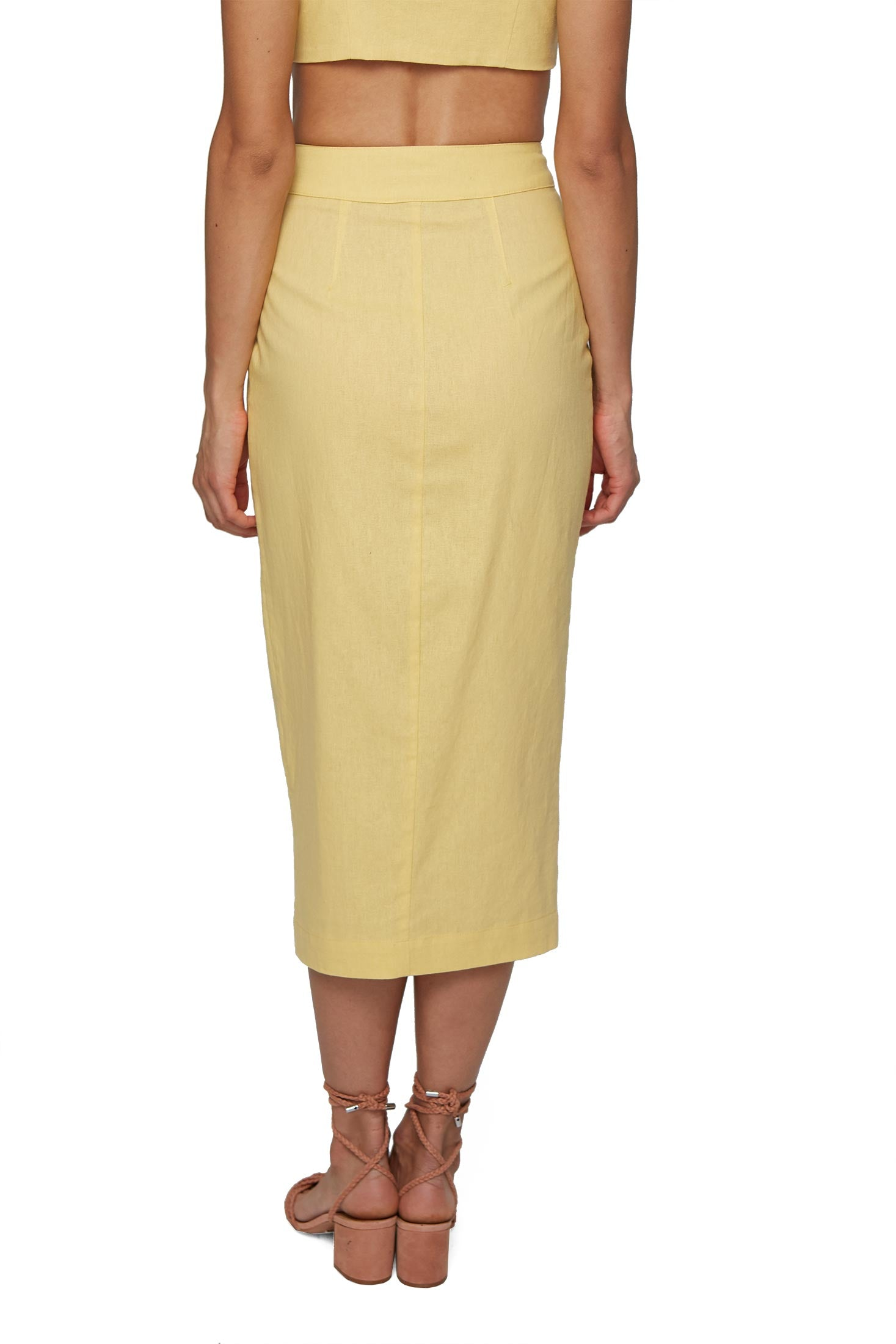 Becker Skirt - Yellow