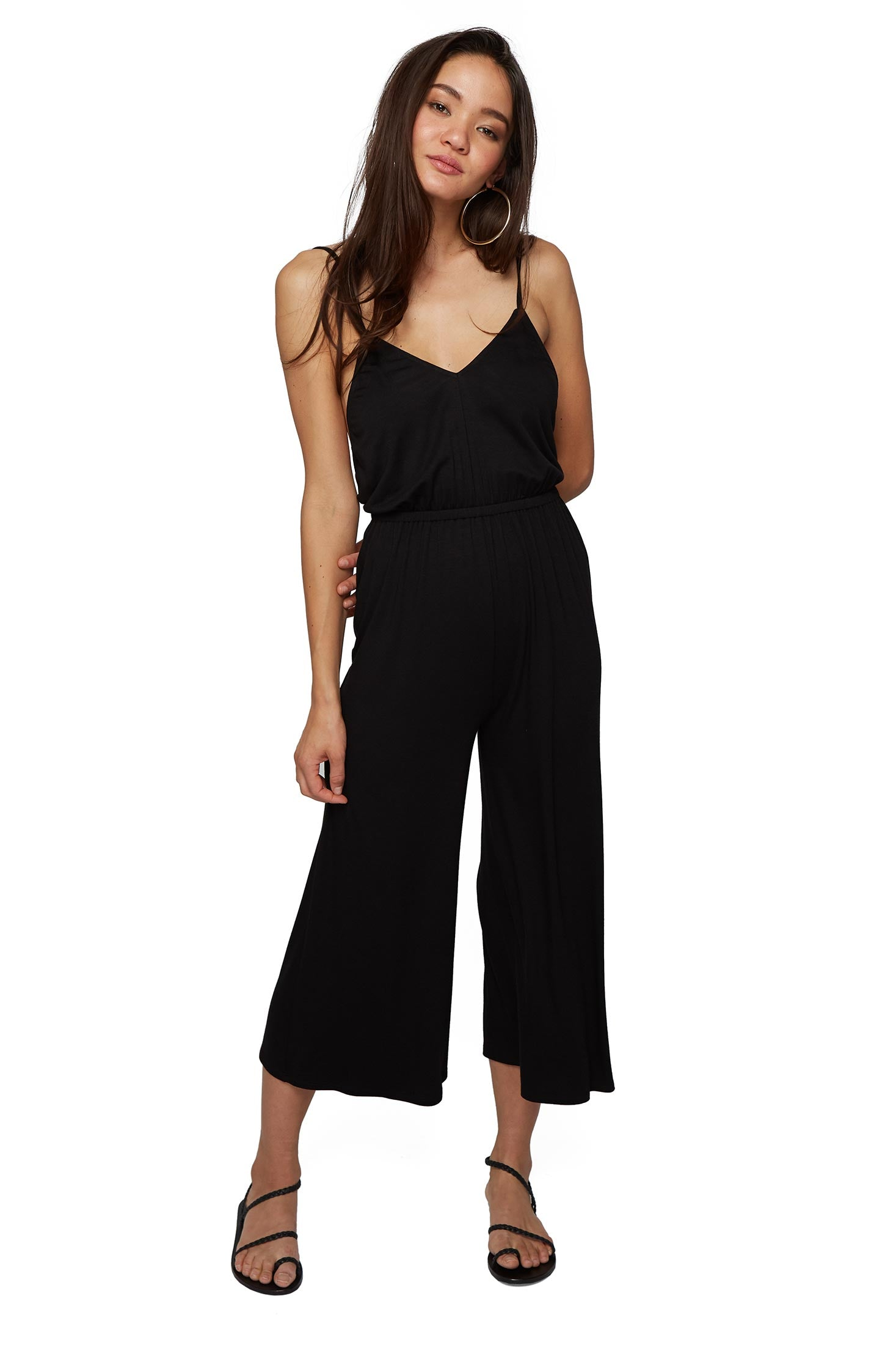 Jorja Jumpsuit in Black. - size M (also in L,S,XS) Clayton