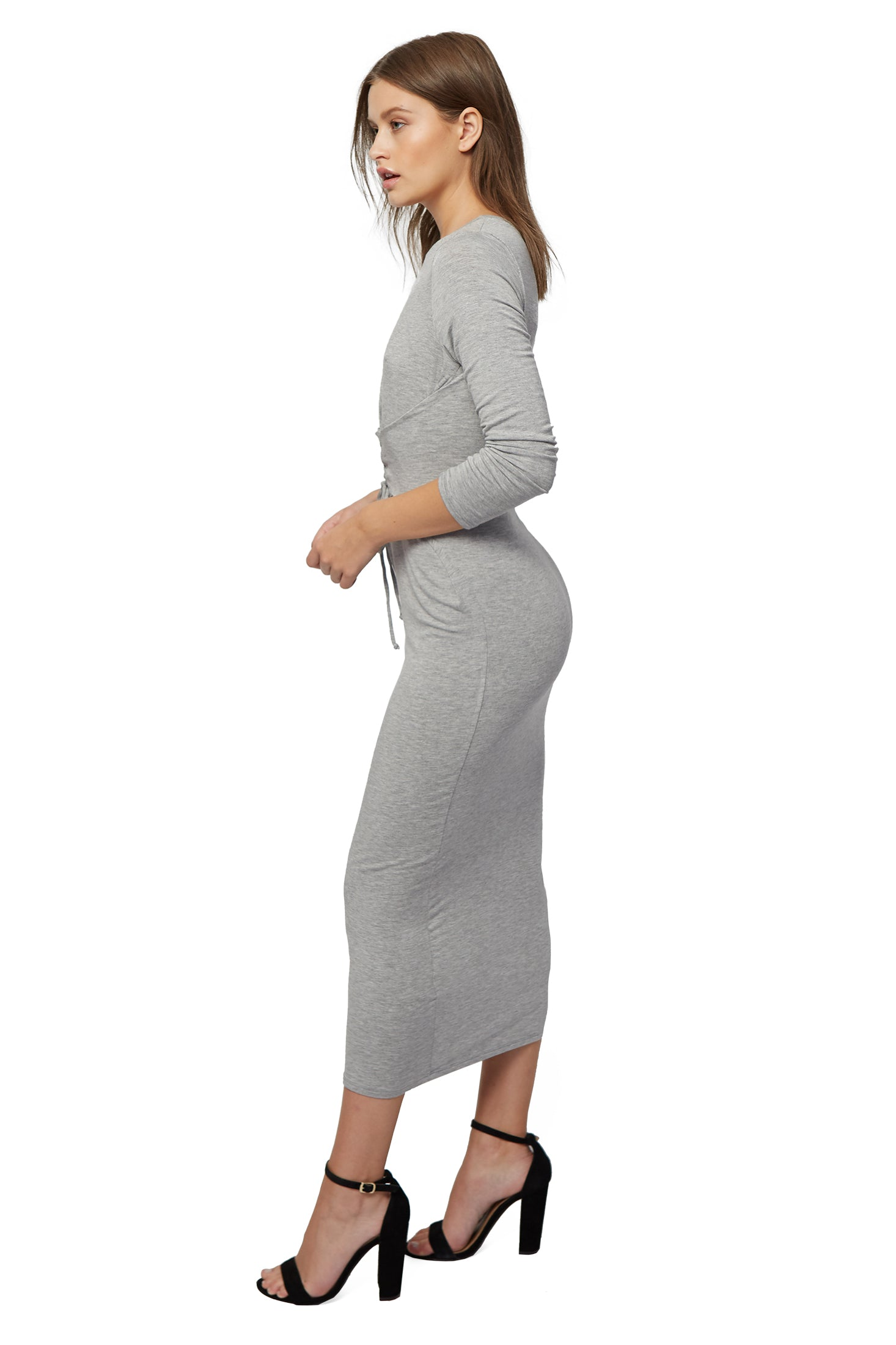 Kamil Dress - Heather Grey
