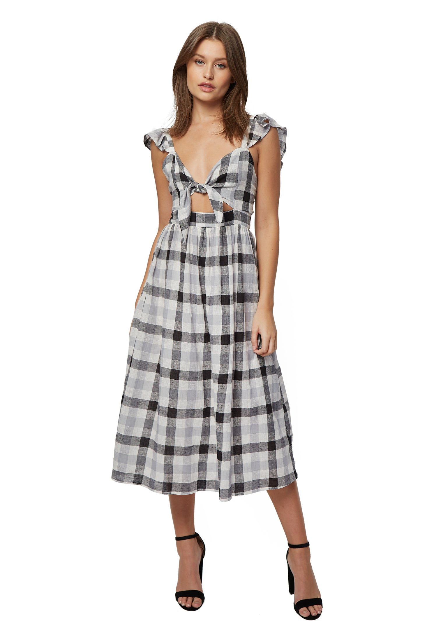 Rosie Dress - Checker Gauze