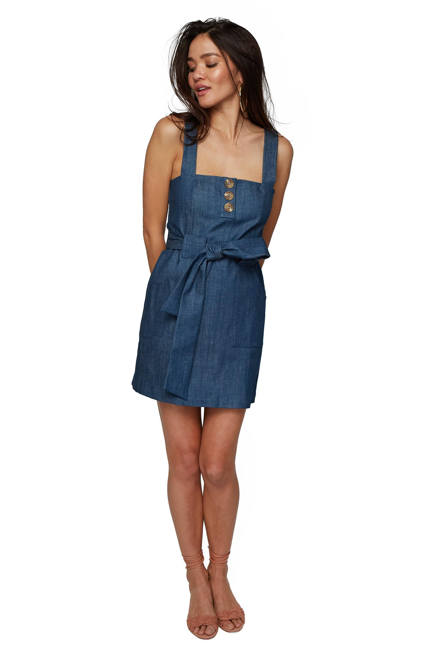 Valerie Dress - Marina Denim