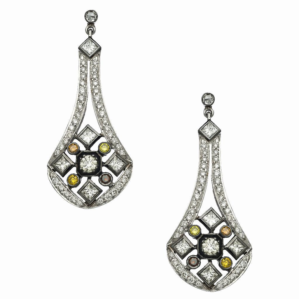 The Art Deco Earrings
