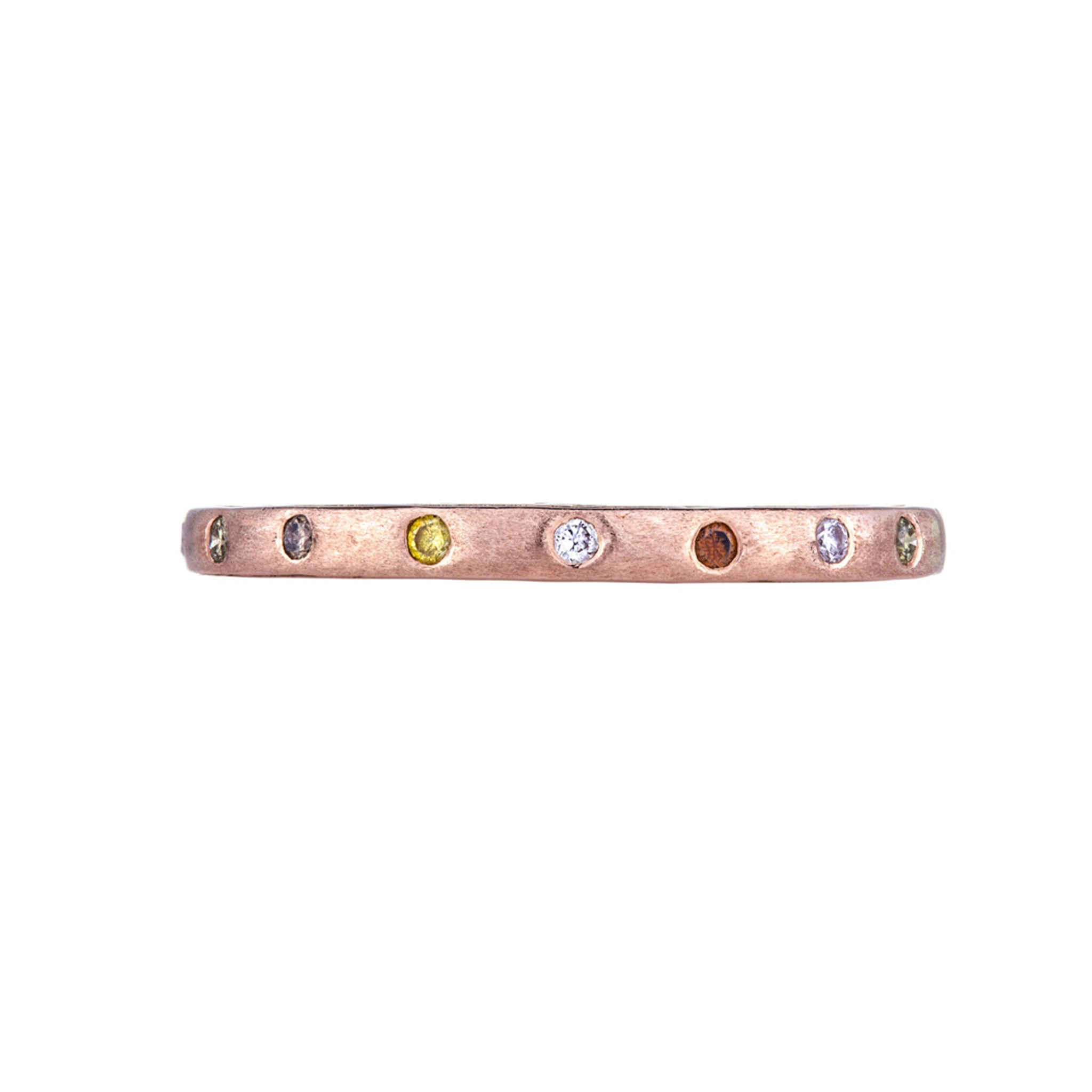 The Dunes Narrow 18K Rose Gold