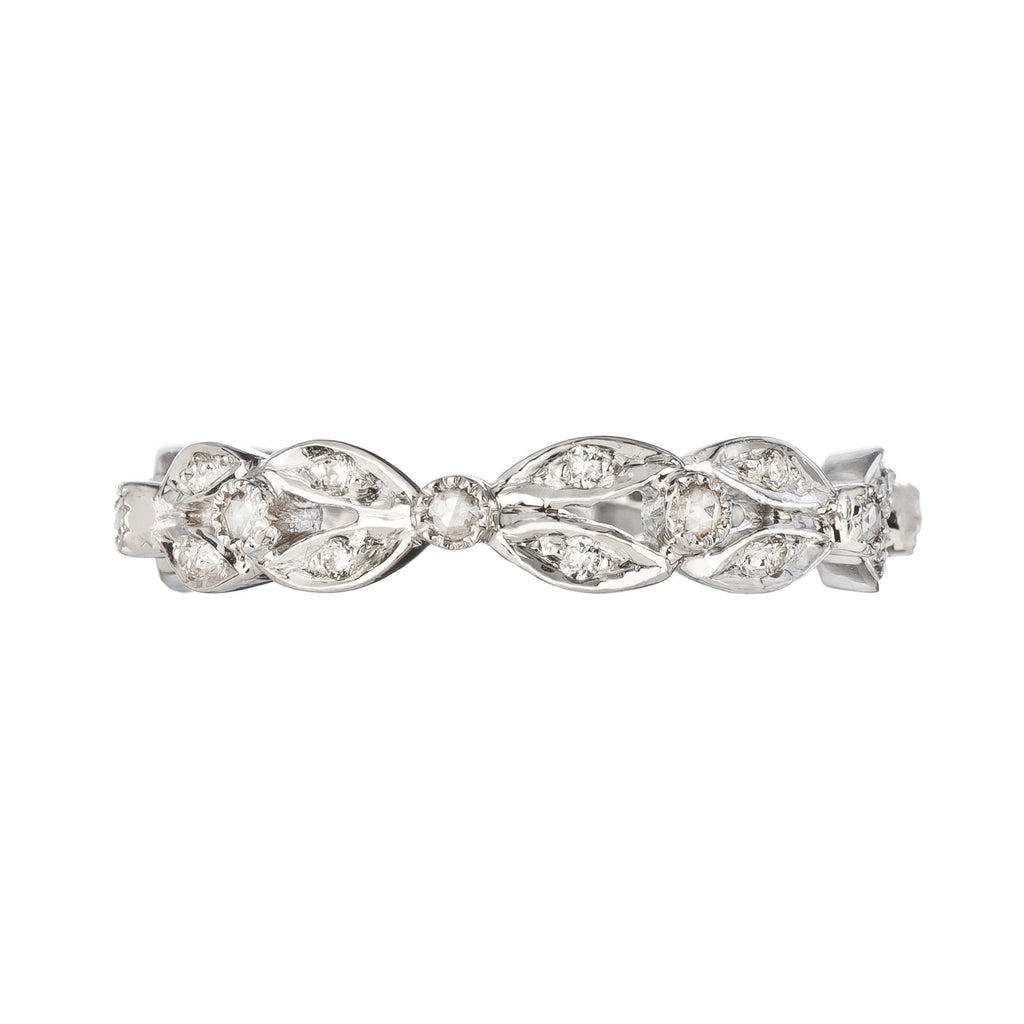 The Garland 18K White Gold