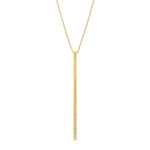 Dunes Bar Diamond Necklace