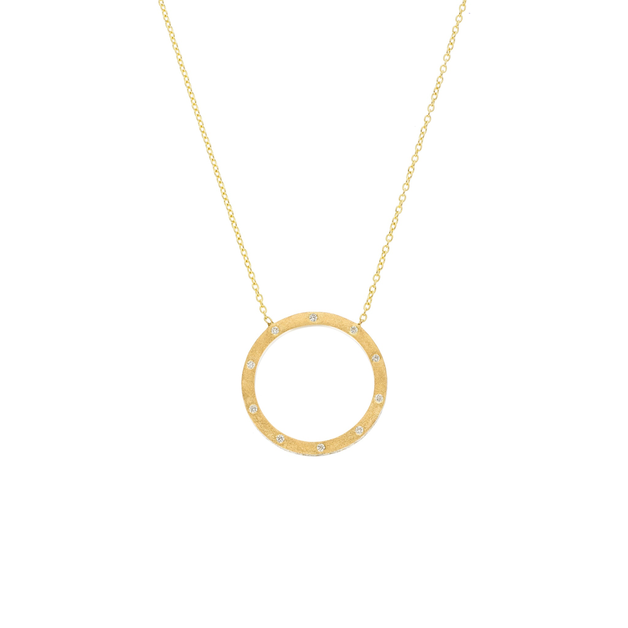 The Dunes Circle 18K Yellow Gold