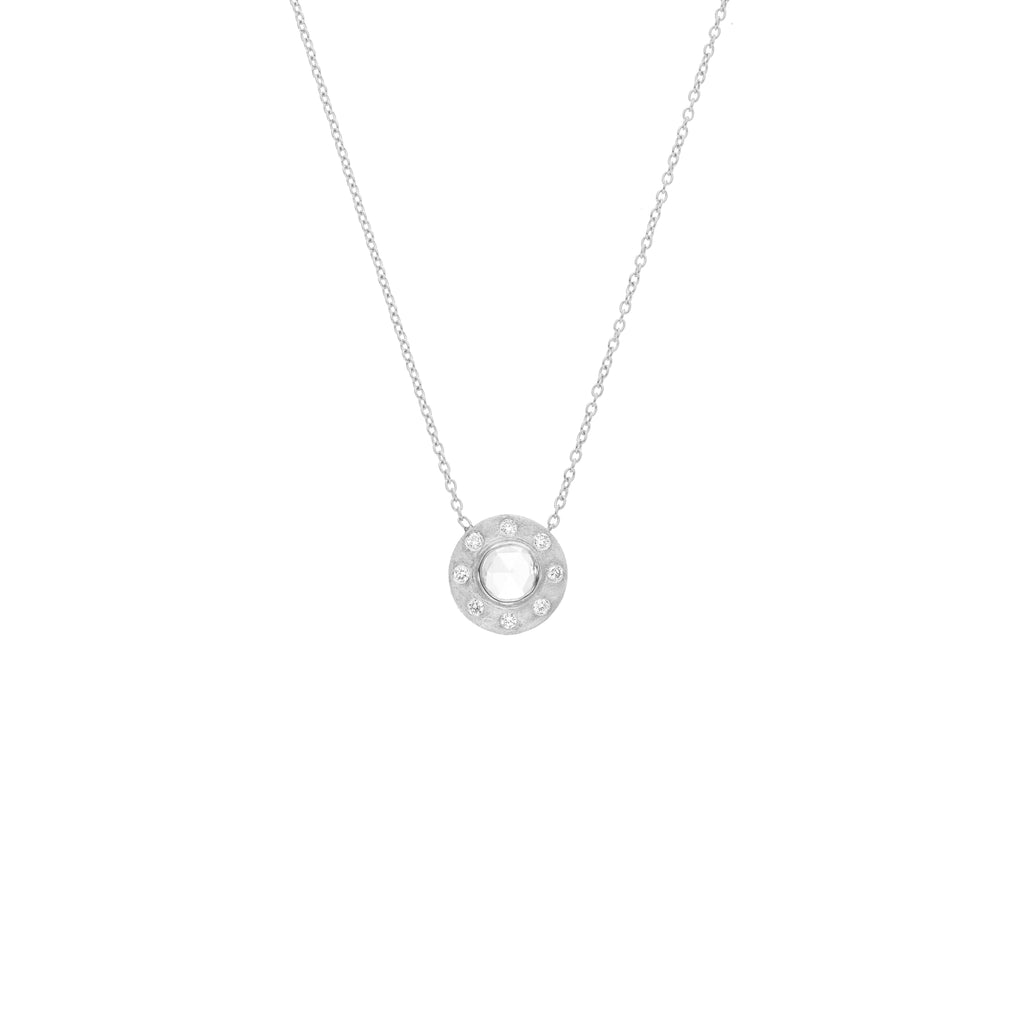 The Dunes Classic Necklace - White