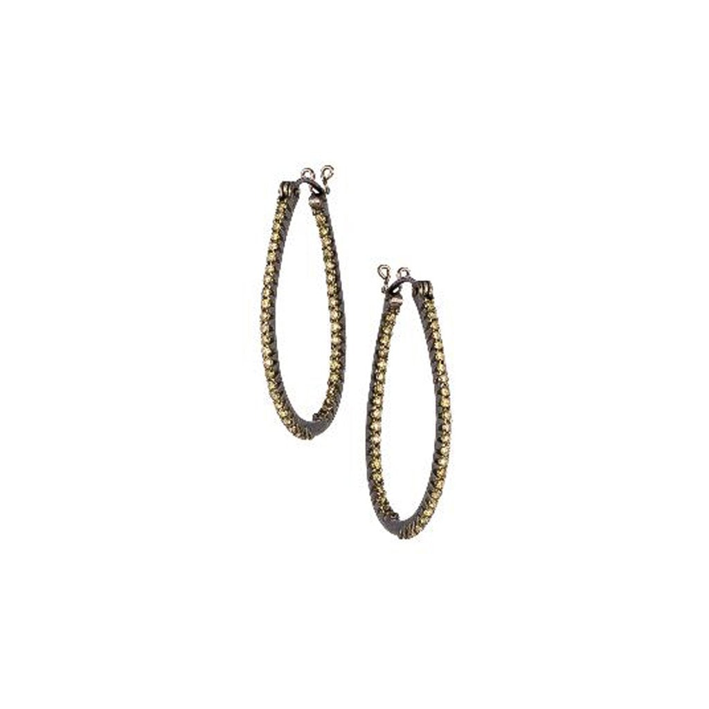 The Simple Elegance Oval Hoops