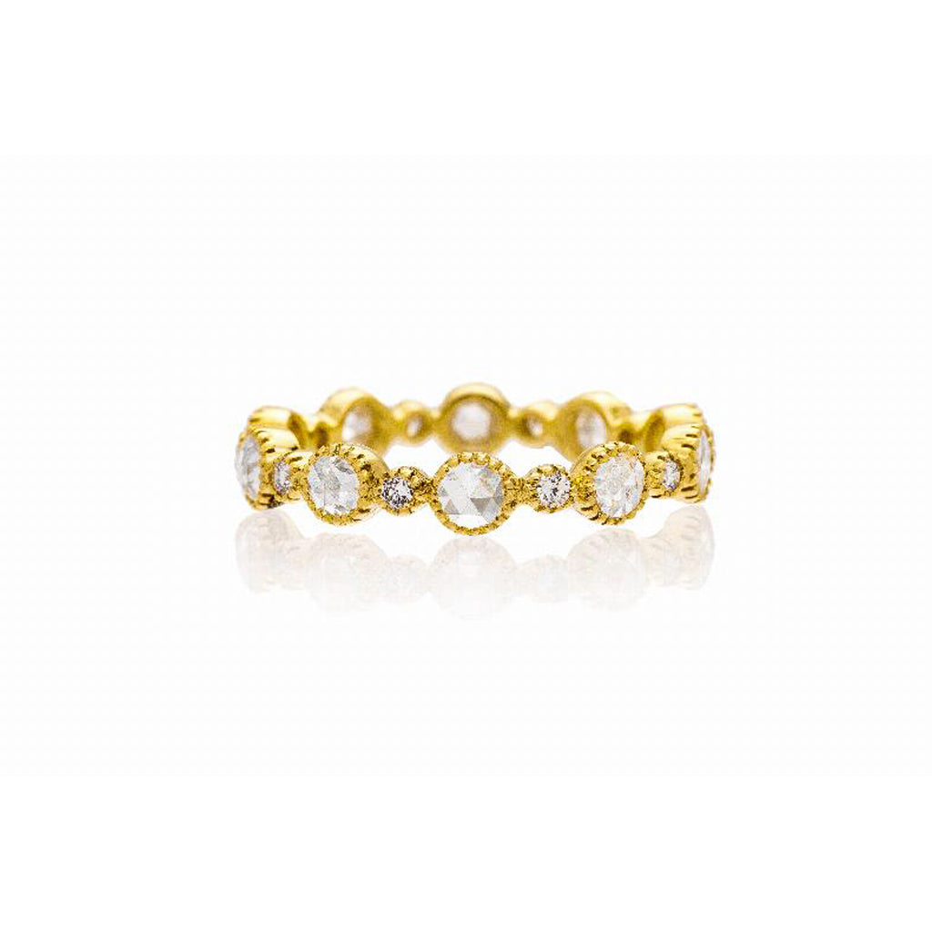 Cassie Rose Cut Diamond Band
