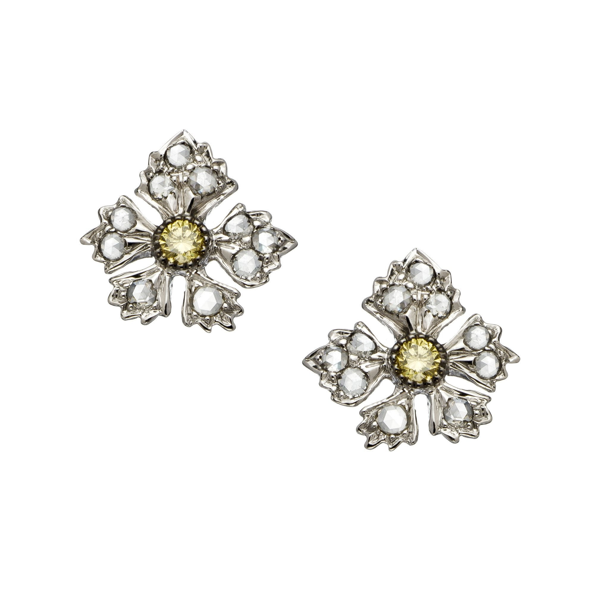 The Enchanted Garden Stud Earrings