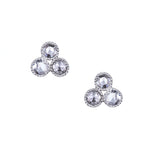 Grace Rose Cut Diamond Stud Earrings