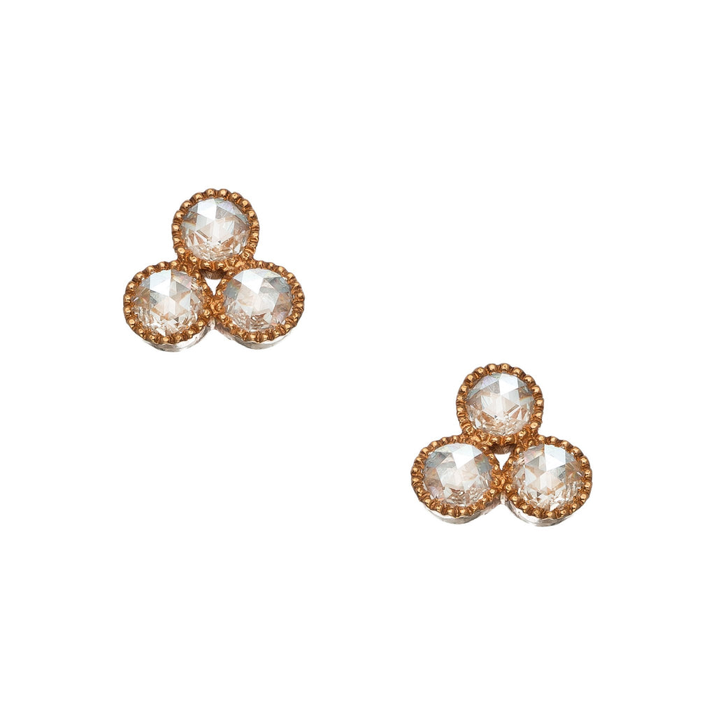 The Grace Earrings - White