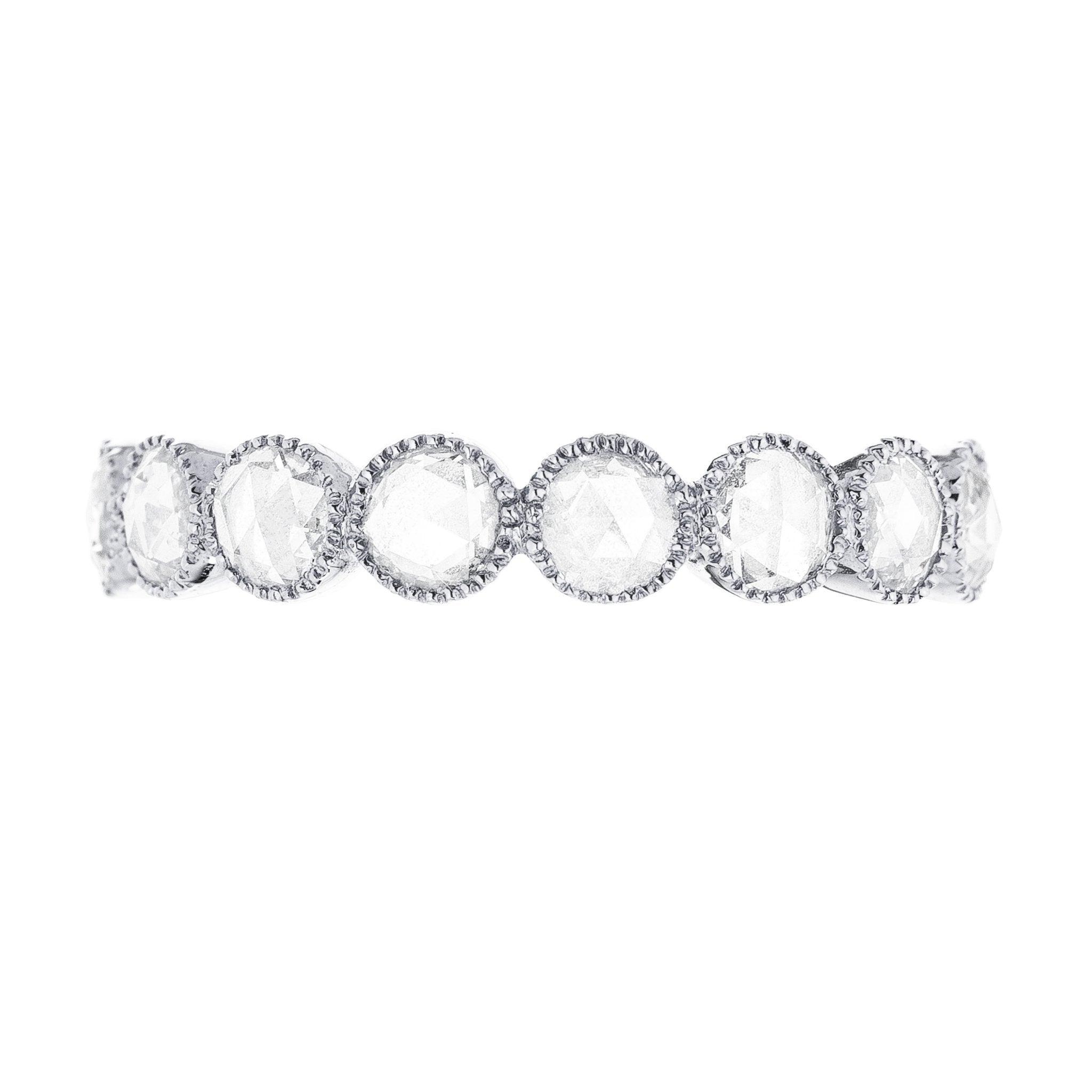 Grace Rose Cut Diamond Band