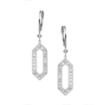 The Kerri Earrings - White